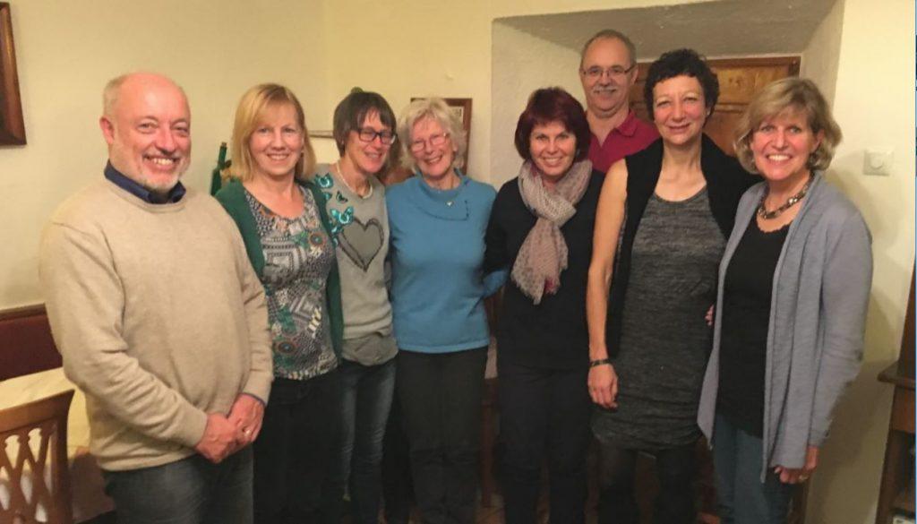 Ausschussmitglieder: Gerhard Poscher, Maria Prossliner, Reinhild Waldhart, Hannelore Waldhart, Christine Konrad, Georg Prossliner, Ulli Kometer, Uli Poscher